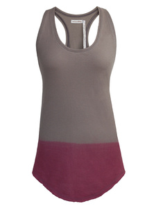 COLOR DIPED Tank Top - woodlike