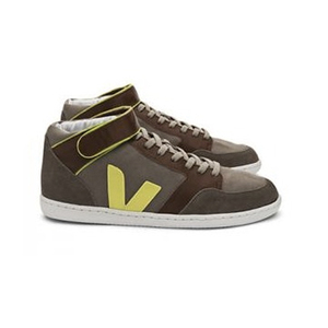 Felicite Moonrock Auburn Jaune Fluo - Veja