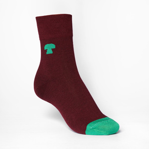 Summit Mid-Top Socken green/ruby - THOKKTHOKK