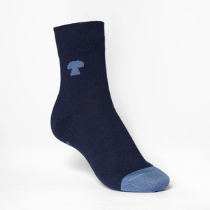 Summit Mid-Top Socken grey/navy - THOKKTHOKK