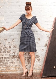 Beth Check Dress - PeopleTree