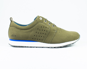 birch runner / olive vegan - ekn footwear