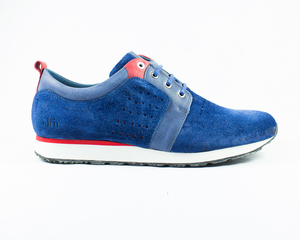 birch runner / blue suede - ekn footwear