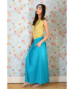 Maxi Skirt caribean sea - Alma & Lovis