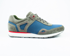 low seed runner / canvas & suede - ekn footwear