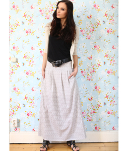 Maxi Skirt grey - Alma & Lovis