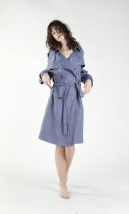 Trench Coat Capsule blau - Y/O/U 