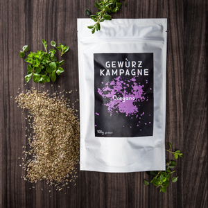Bio Oregano 100g, gerebelt in Aromaverpackung - Gewrzkampagne