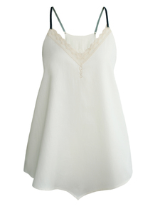 SUMMER ROMANCE Tank Top - weiß - woodlike