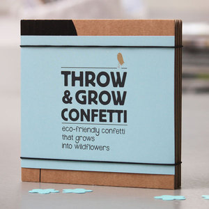 Throw and Grow 'Gift Box' - Wildblumen Konfetti - NIKO NIKO