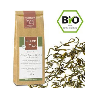 China Green Spring Tip Superior - Pure Tea