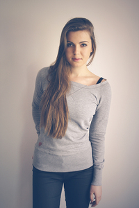 Sweater, Raw Edge, Organic Cotton - Re-Bello