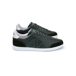 Grama Leather Anthracite White Sole - Veja