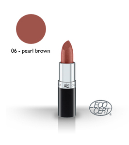 Lipstick 6 - pearl brown - alva naturkosmetik